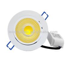 10W round aluminum led ceiling lights sensor motion