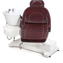Cadeira elétrica do champô da lavagem luxuosa do cabelo