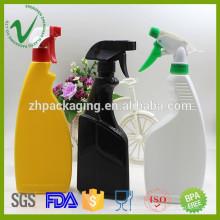 Botellas plásticas de uso doméstico de alta calidad 600ml para el líquido lavavajillas