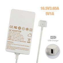 Slim USB 16.5V3.65A AC Power Adapter for MacBook Charger 60W