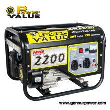 Générateur portatif silencieux de générateur de 2kw 2000W de générateur de Taizhou pour l'usage à la maison