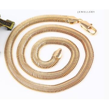 43085 Collier de bijoux de serpent en or 18k Cool Fashion en alliage de métal