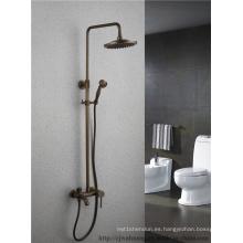 Conjunto de ducha de baño con una sola manija antigua