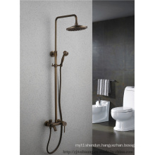 Antique Single Handle Bathroom Shower Set