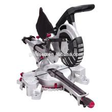 """Twin Laser 210mm 8 """"1300W Duplo Bisel Miter Serra Serra Miter Duplo"""