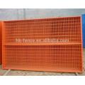 Anping Fabrik geliefert Top-Qualität PVC beschichtet temporäre tragbare Zaun, 6ft Kanada Eisen Fechten für den Bau