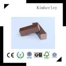 40 * 40 Eco-Friendly e 100% WPC Keel reciclado usado em Decking composto WPC, WPC Decking Accories, Fornecedor da China Joist venda quente