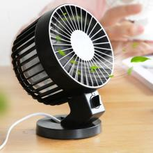 5 inch Head Rotating Mini USB Desk Fan