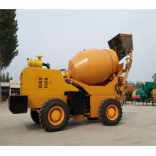 Misturador de concreto com carga automática Misturador de concreto portátil