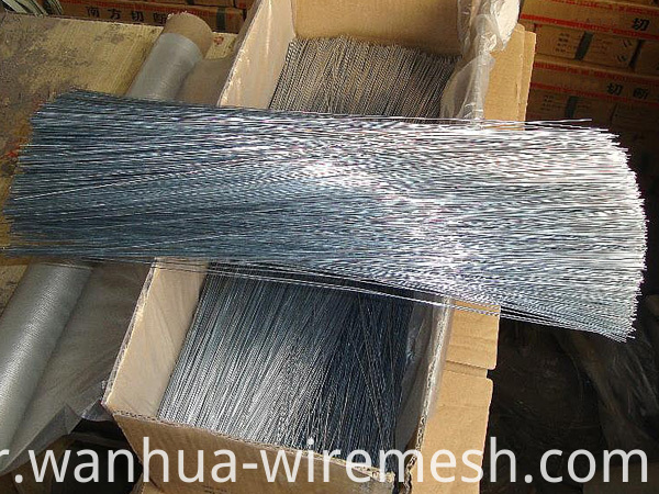 Low carbon steel electric galvanized Straight Cutting Wire (3)