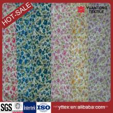 Bom Design 100% Rayon colorido impressos tecidos