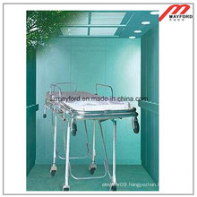 Hospital Bed Elevator with Mirror Etched Stainless Steel