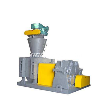 Recycled double roller press granulator