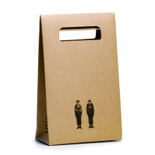 Wedding Kraft Paper Flat Bottom Candy Gift Bags