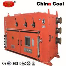 Interruptor de arrancador electromágnetico del vacío del doble del lazo ignífugo de la mina para la venta