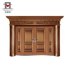 Porta de entrada principal de entrada de villa de alta qualidade, porta de villa