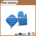 Custom Cheap double kitchen Oven Mitt Thermal dotted Cotton Oven Gloves