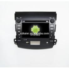 Quad core! Voiture dvd avec lien miroir / DVR / TPMS / OBD2 pour 7inch écran tactile quad core 4.4 Android système Mitsubishi Outlander