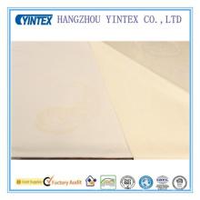 Tissu doux en coton et polyester respirant