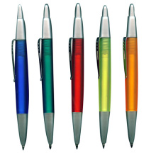 Plastic Half Metal Ball Pen