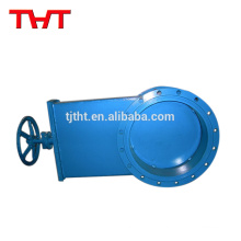 Flange connection clarkson knife gate slide valve