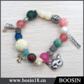 China Manufacturer Wholesale Silver Chain Bead Bracelet #31429