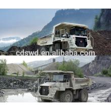 minig / minero / mineral 45ton volquete para camión pesado terex