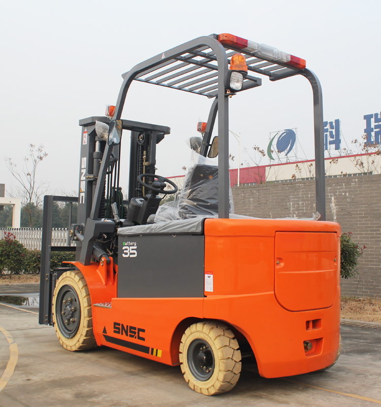 Electric Powered Forklift 3 5 Ton