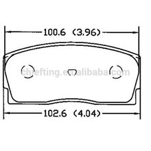 D456 04491-87101 for geely brake pads