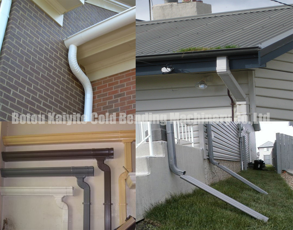 application downspout pipe