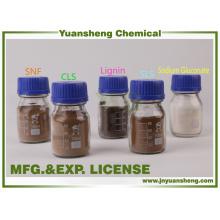 Fornecedor químico do aditivo de Yuansheng do Fertlitizer do Lignosulphonate do cálcio bio