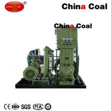Compresor de refuerzo de gas natural de hidrógeno en la estación industrial