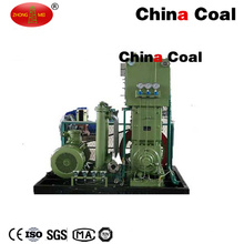 Compresseur de propulseur de gaz naturel d'hydrogène dans la station industrielle