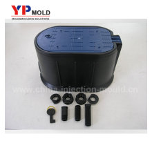 plastic water flow meters boxes and connector maker