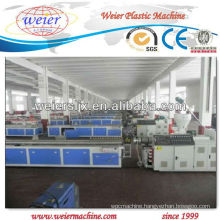 WPC profile extruder machine
