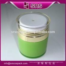 Plastic 15ml 30ml 50ml acrylic liquid foundation bottle wholesale