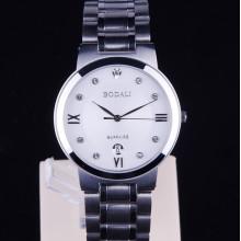 Luxury Calendar Display Stainless Steel Quartz Watch