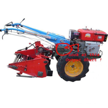 Potato Harvester Matched with hand walking tractor