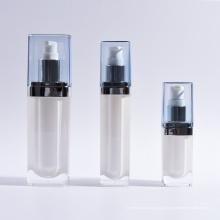 Garrafa de loção acrílica cosméticos quadrados (EF-L08)