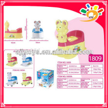 plastic potty with wheels moveable baby potty mini toilet