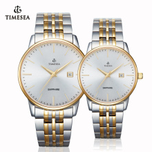 Stainless Steel Couple Watch, Quartz Watch 70029
