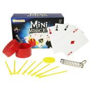 Estuche plástico de magia Mini Kits de tres en uno