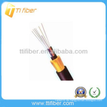 Nicht-metallisches Festigkeits-Mitglied Nicht gepanzertes GYFTY-Außenfaserkabel