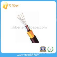 Não-metálico membro de força não blindados GYFTY cabo de fibra exterior