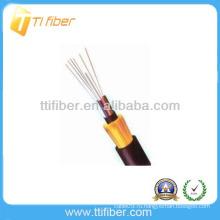 Неметаллический прочный элемент Небронированный наружный волоконно-оптический кабель GYFTY