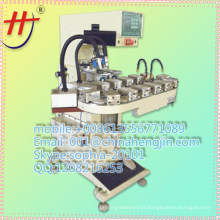 AT HP-160BZ High quality 2 color silicone printing machine china with automatic de-electrostatic device