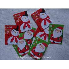 Personalizado 27 Tarjetas 3 Diseño Tarjetas de Regalo de Navidad
