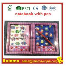 Stationery Notebook in Paper Box Packing