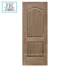 JHK-Wood Grain Materail Unequal Leaves Porta in pelle nera