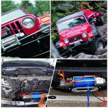 CE aprovado 13000LBS Controle Remoto Aço Elétrico WINCH 12V Wire Cable 4X4 4WD Boat Truck